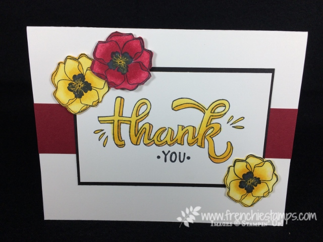 Stampin' Blends, Color Me Happy, Stampin'Up!,