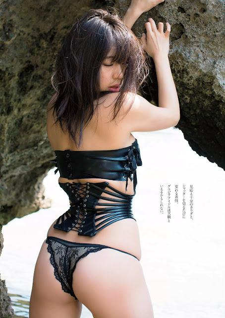 Suzuki Fumina 鈴木ふみ奈 Weekly Playboy No 23 2016 Images 03