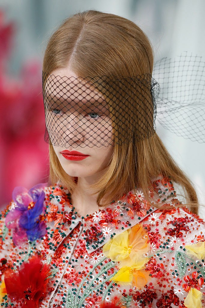 Chanel Alta Costura SS 2015 redecillas