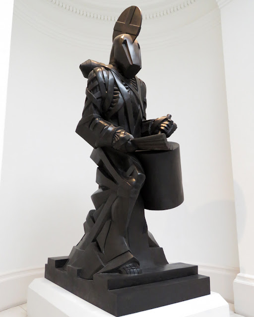 Der Trommler (The Drummer) by Michael Sandle, Rotunda, Tate Britain, Millbank, London