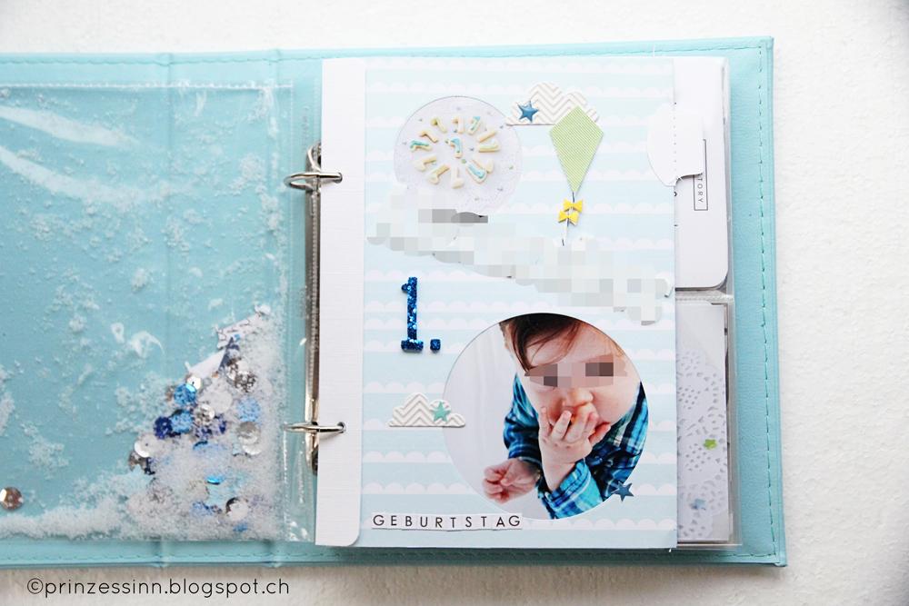 ♥ © PrinzessinN ♥: Design Team Beitrag - Minialbum 1. Geburtstag (1/2)