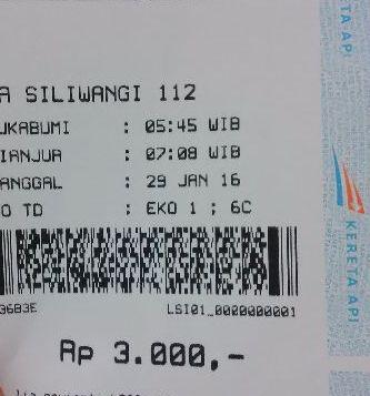 Bentuk tiket ka siliwangi berganti tiket thermal infonya kereta api gambar tiket ka siliwangi stopboris Gallery