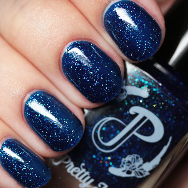 Pretty Jelly Nail Polish Bluefire