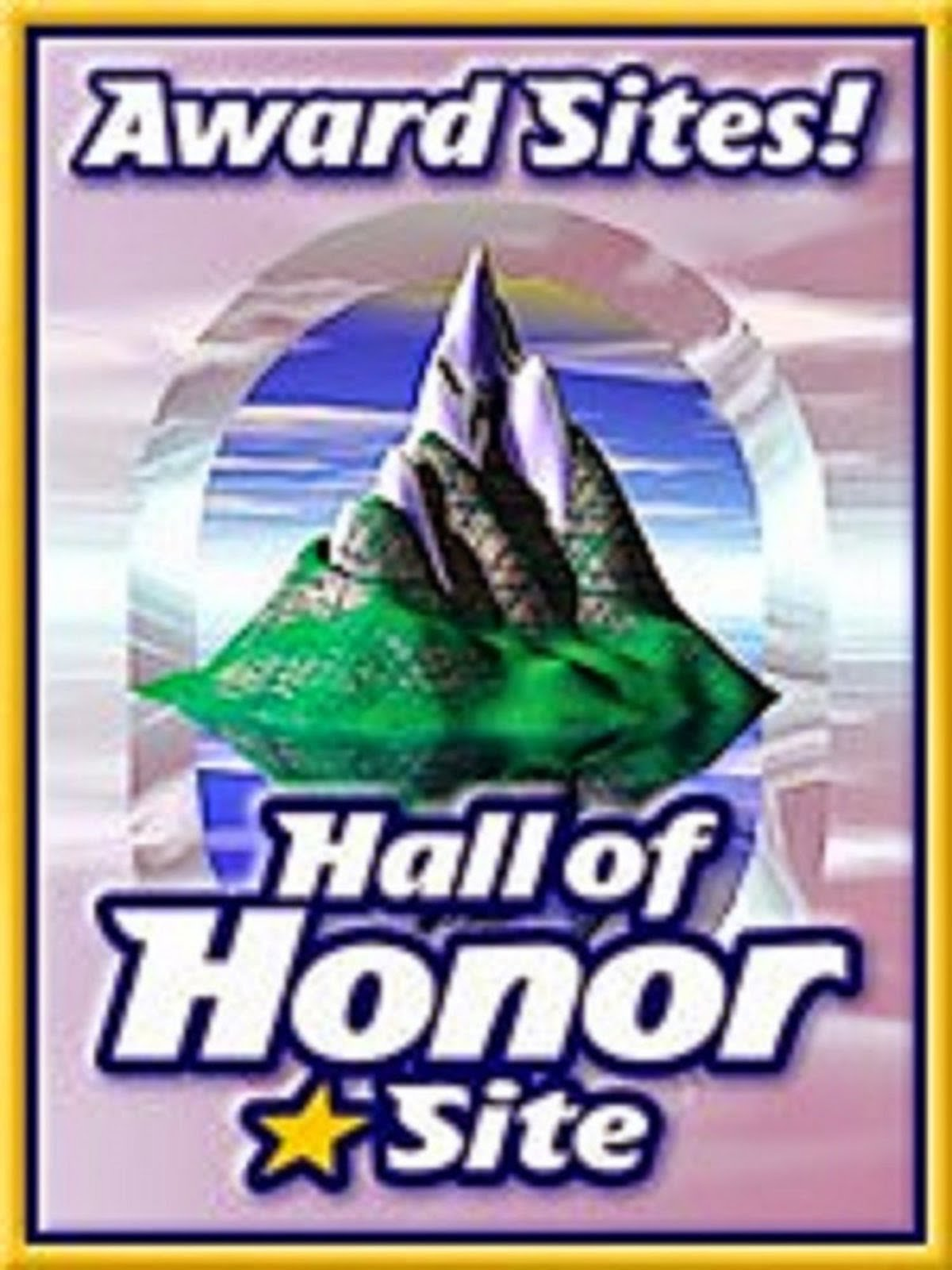 HALL OF HONOR - WEB AWARD