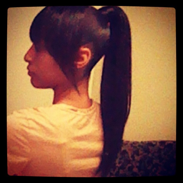 Brilliant Ponytail With Chinese Bangs Hairstyles 119825 Chinese Ban Short Hairstyles For Black Women Fulllsitofus