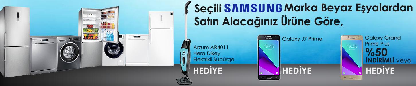 Samsung Telefon Hediyeli Beyaz Eşya Kampanyası