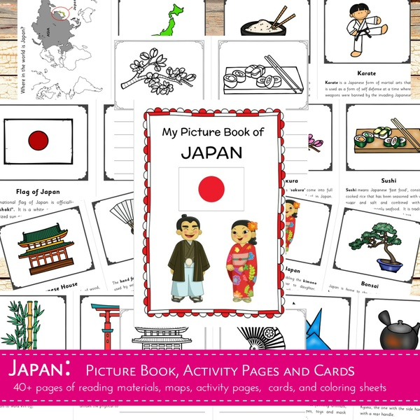 Japan Country Study Learning Pack