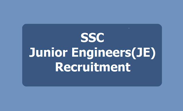 SSC Junior Engineers(JE)