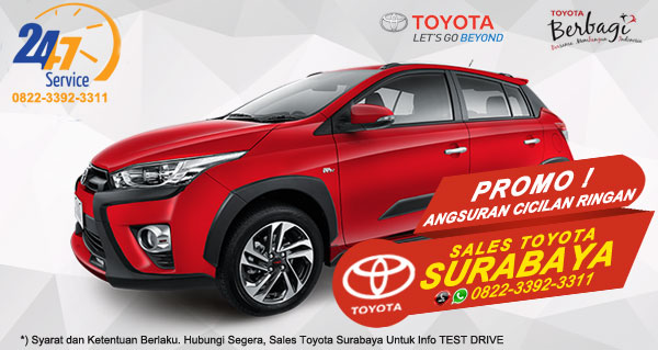Promo Angsuran Cicilan Ringan Toyota Yaris Heykers Surabaya