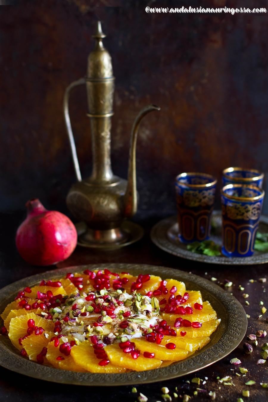 Andalusian auringossa_kulinaristiretkia Jerezista Jerusalemiin_marokkolainen appelsiinisalaatti