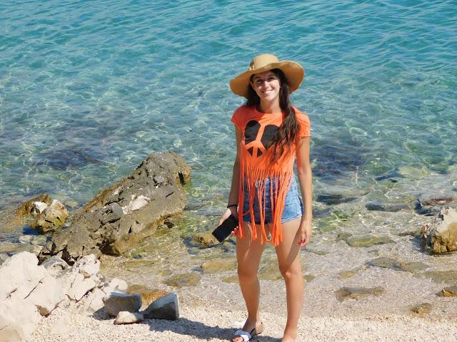 murter, jezera, croatia, hrvatska, beach, plaža, šešir, outfit, ljeto, summer, hat, twinkledeals, photography,
