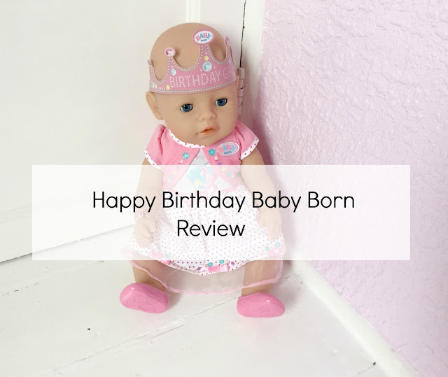 Baby Born Interactive Happy Birthday Doll Review