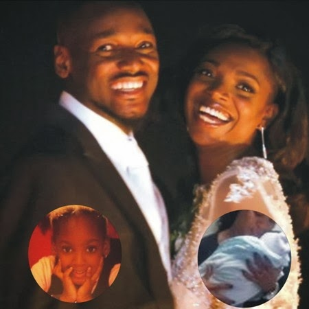 annie idibia baby girl picture