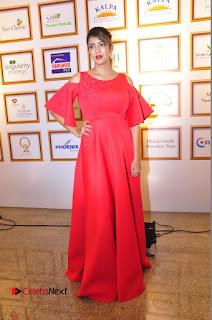 Actress Manchu Lakshmi Pictures in Red Long Dress .COM 0121.JPG