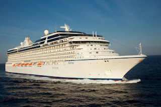 Oceania Cruises Marina Spends Overnight in New York City.