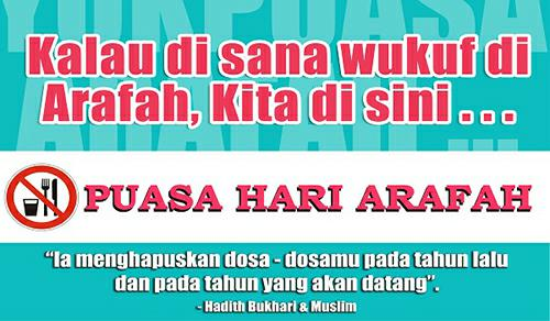 Bacaan Doa Niat Puasa Arafah Idul Adha Tarwiyah Lengkap Artinya