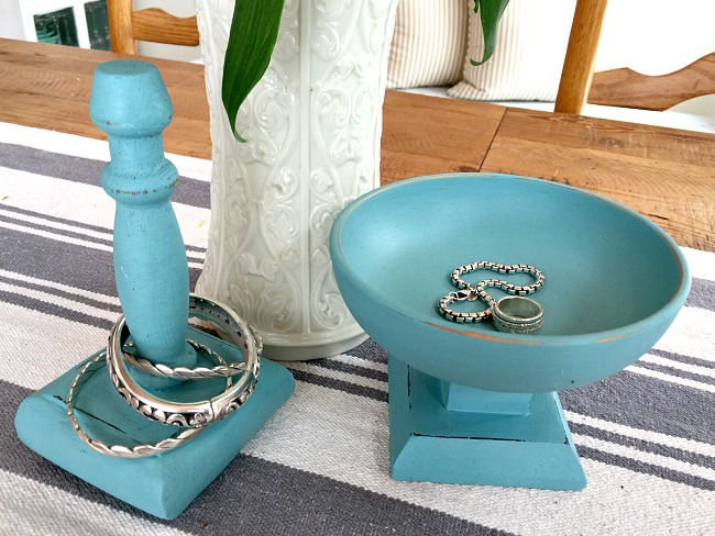 Make a Jewelry Dish and Bracelet Holder Using Thrift Store Finds