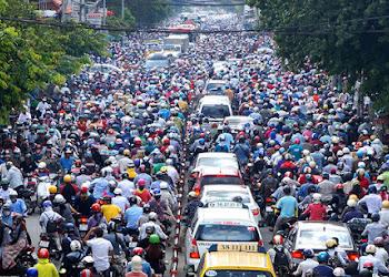 Báo Nhật: 'Xe máy là mối đe dọa carbon của Việt Nam'