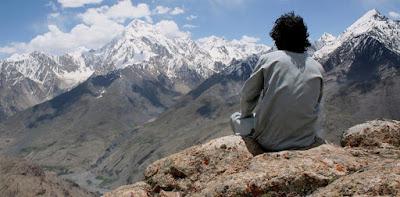 Θέα απ' τα βουνά στα Ιμαλάια