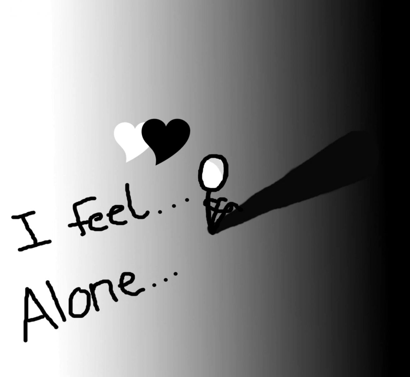 Alone Quotes HD Wallpaper PIC WPC0013386