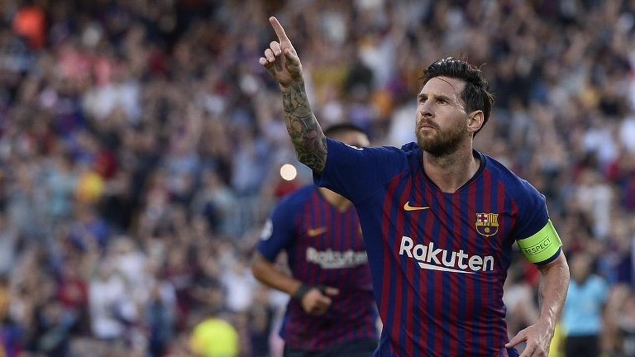 Messi Raih Penghargaan Pemain Terbaik La Liga Bulan September