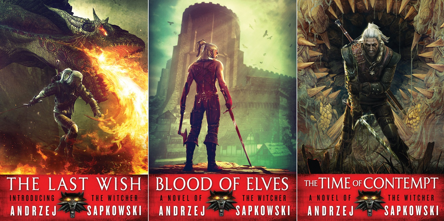 The Witcher Books Ebook