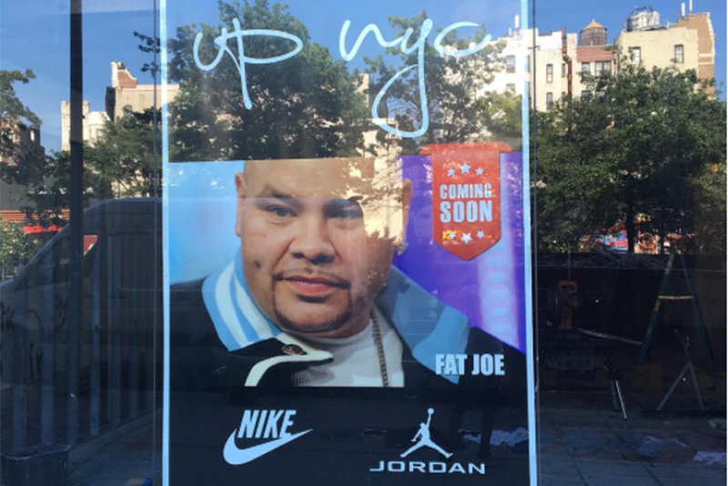 official photos c39bc 6de1a Before he opens the doors of his sneaker store UP NYC, rapper and sneaker  legend Fat Joe chopped it up about his one-of-a-kind collection and what to  expect ...