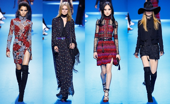 Best of PARIS Fashion Week Fall 2016.Paris fw fall 2016:Elie Saab.