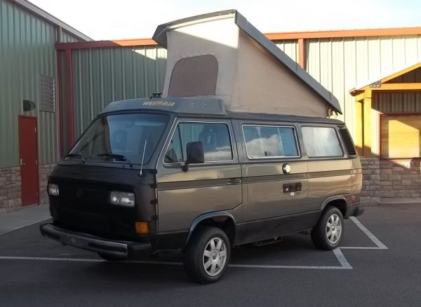 Daily Turismo: 10k: 1987 Volkswagen Vanagon Westfalia Pop