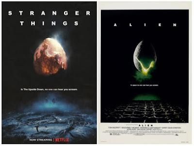 Pósters de películas Stranger Things - Alien