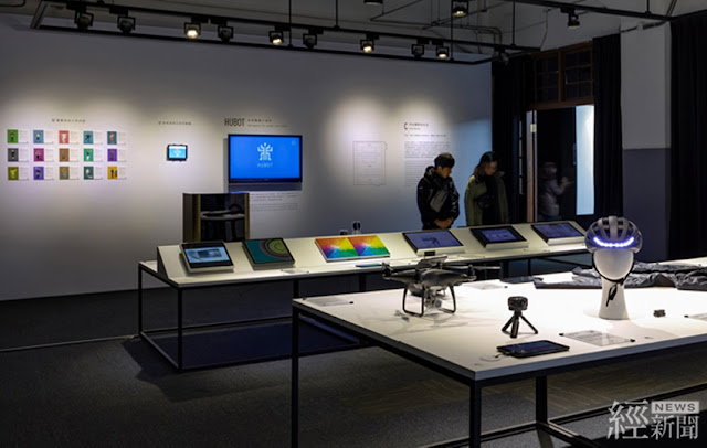 「C區 科技圍繞的生活」模擬軟硬結合後的未來生活提案,從人性關懷為出發,達成永續發展的理念。     (圖片來源:台灣創意設計中心)