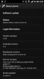 Rom Sony Xperia S  LT26i 6.2.B.0.211 Arabic