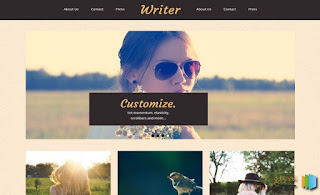 The Writer Blogger Template
