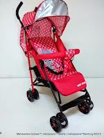 Kereta Dorong Bayi BabyDoes CH206 Clip Buggy Red