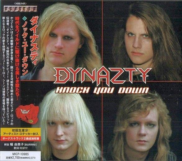 DYNAZTY - Knock You Down [Japan Edition +3] full