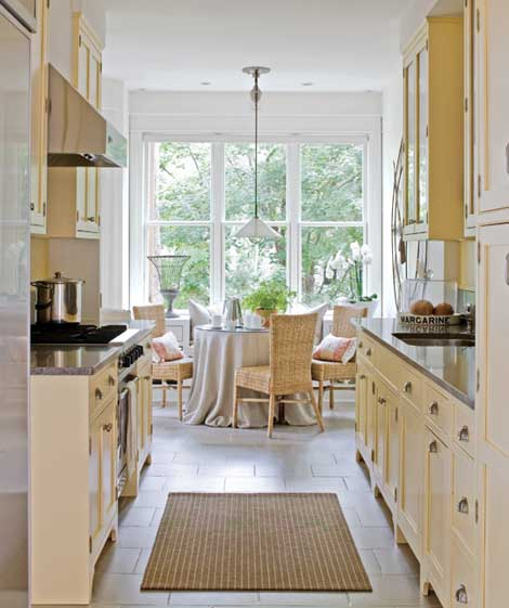 Narrow Galley Kitchen Designs: Beatrice Banks: Galley Kitchens Looking Grand
