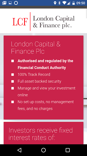 What Commission Did London Capital & Finance pay for bonds?