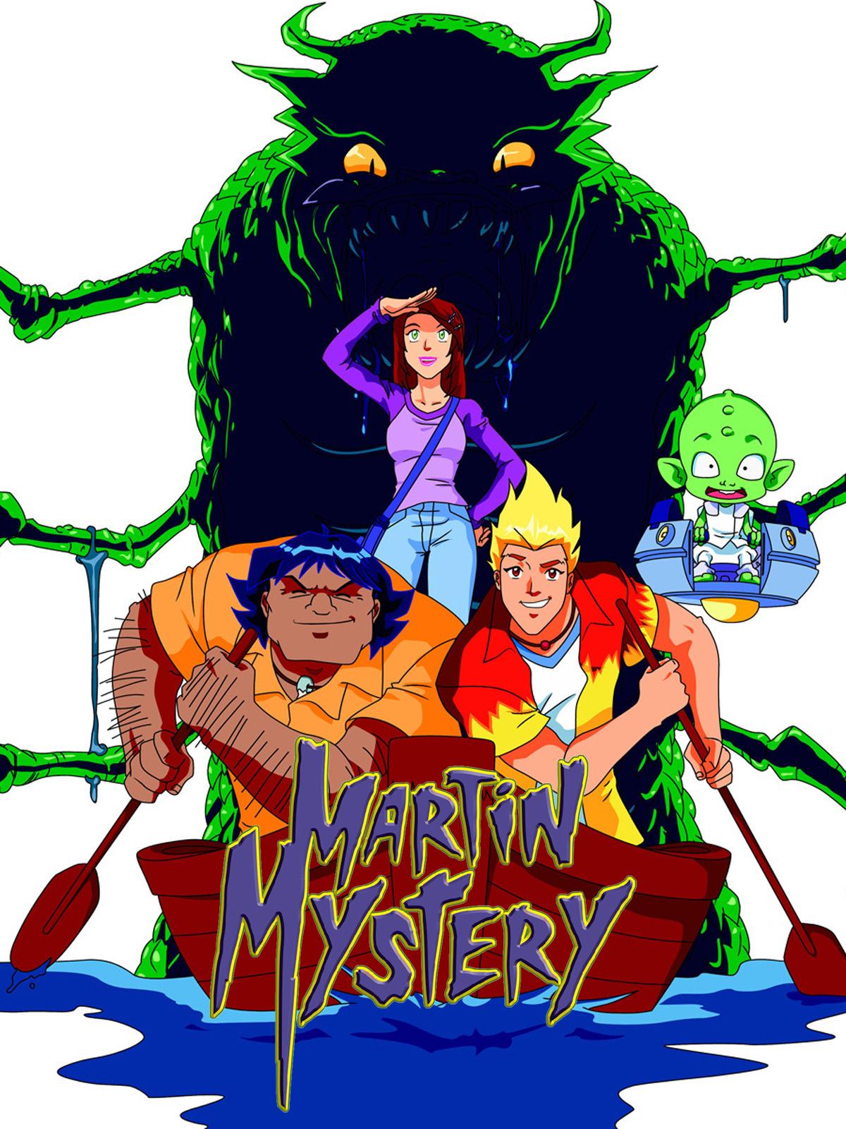 Martin Mystery  66/66   Audio Castellano   TV-Rip   Mega 3 Links 