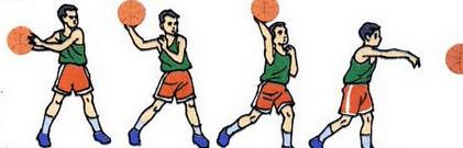 Teknik Mengoper bola basket dari samping dengan satu tangan (the side arm pass)
