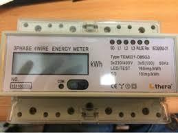 Jual KWH Meter Digital Merk Thera 3phase TEM021-D85G3 Harga Murah