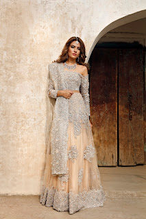 Alyzeh Gabol Pakistani Gorgeous Model Bridals Collection By Rema and Shehrbano