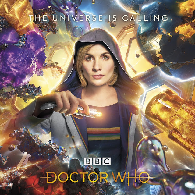 Doctor Who Series 11 Jodie Whittaker as the Doctor, with brand new Sonic Screwdriver