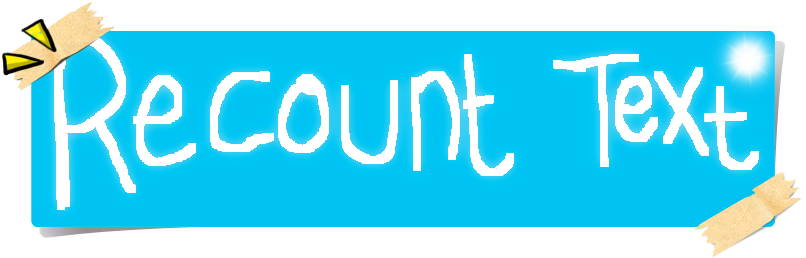 recount text Teaching resource: a poster about the procedural recount text type, including an annotated example.