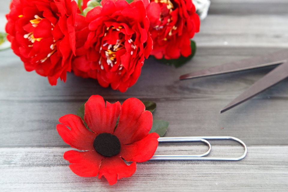 Creativity unmasked quickie poppy craft artificial flower hack i kind of hate the term hack but since this quickie craft involves literally hacking apart an artificial flower with scissors i relentedjust this mightylinksfo