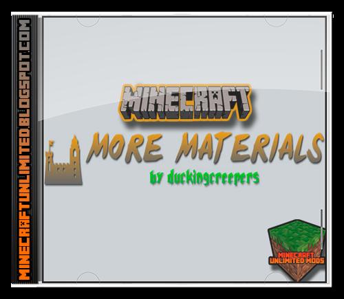 More Materials Mod Minecraft