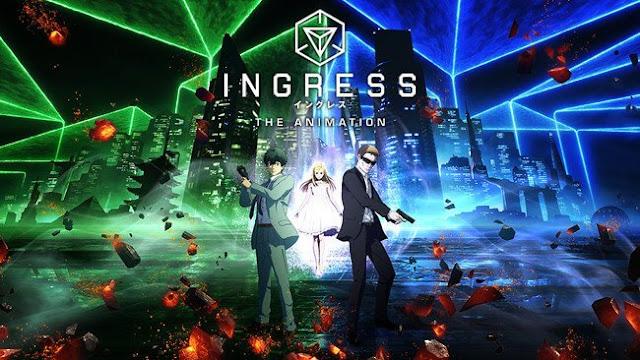 كشف الموقع الرسمي للأنمي الغير مقتبس Ingress برسوم السي جي و المأخوذ من لعبة Ingress للواقع المعزز عن العرض الدعائي للأنمي