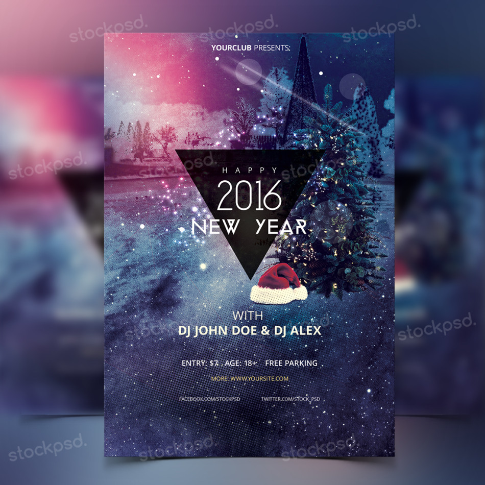 Celebrate New Year With Your Customers Or Friends, But Invite Them With A  Professional Flyer. All Events Needs A Good Flyer Template, Each Celebrate  Event