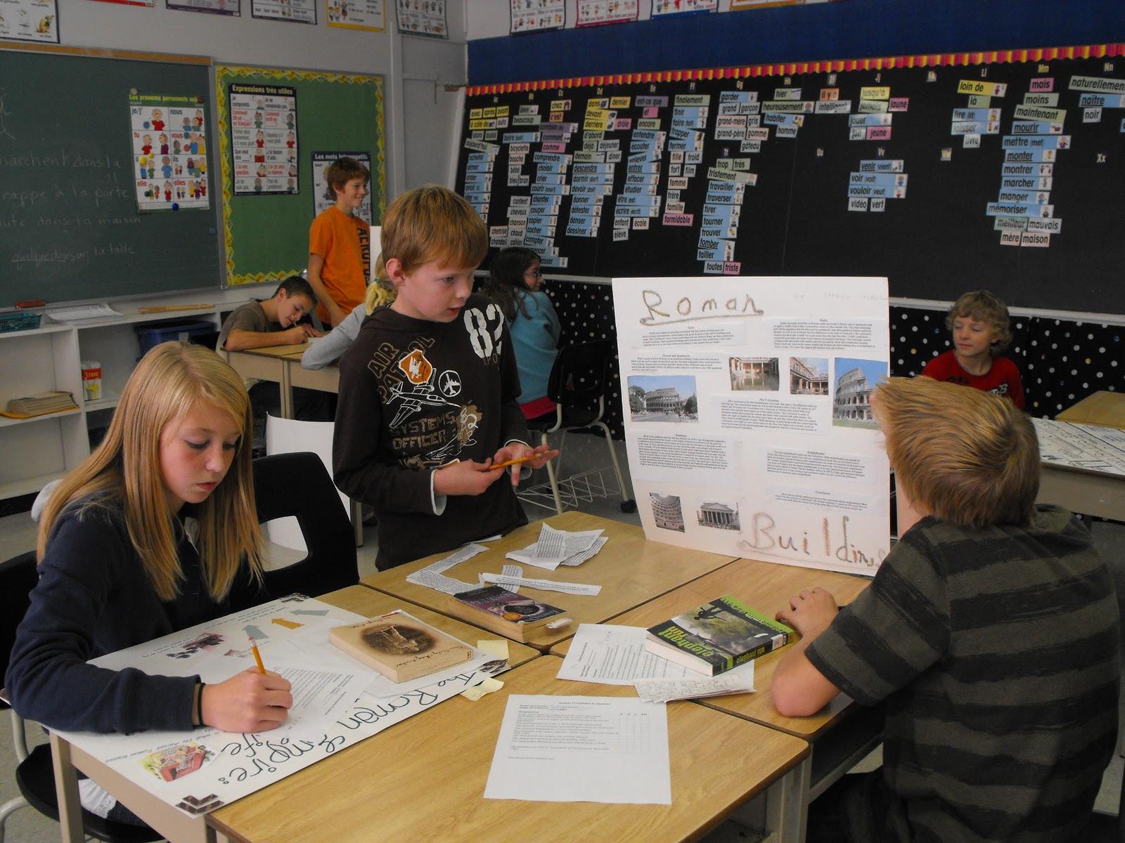 Community Christian School Drayton Roman Projects By