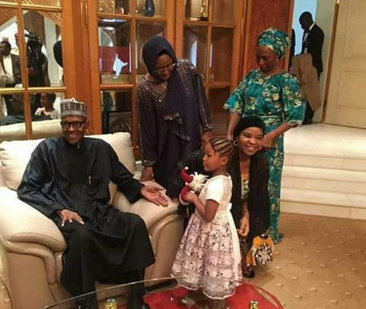 Image result for president buhari and his wife