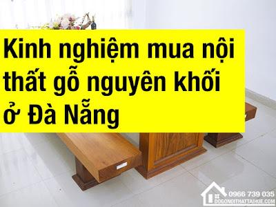Go nguyen khoi Da Nang, Noi that go nguyen khoi da nang